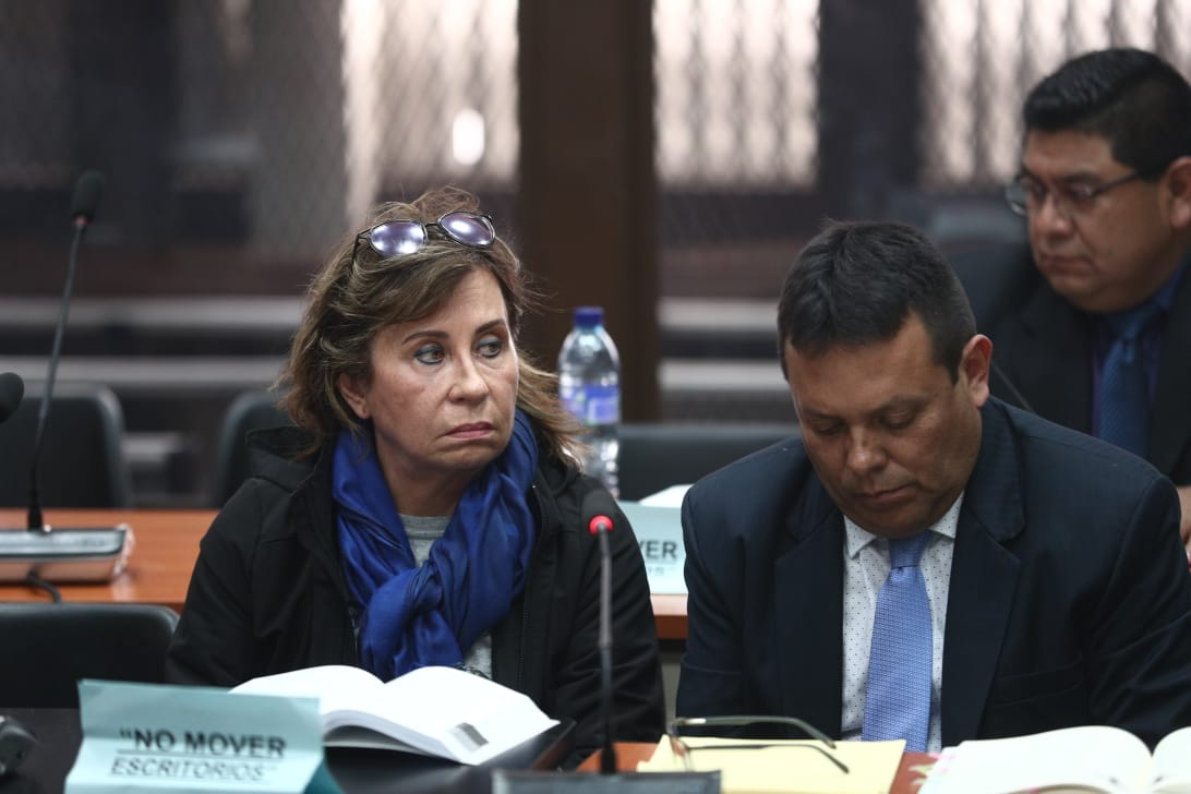 Jueza envía a Sandra Torres a cárcel Mariscal Zavala