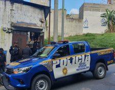La PNC y el MP hicieron nueve allanamientos contra bandas de extorsionistas. (Foto Prensa Libre: PNC)