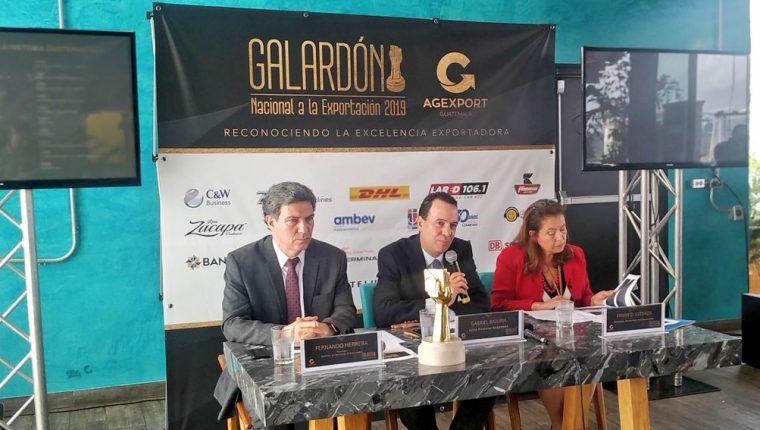 Agexport dio a conocer este jueves los nominados a los galardones que anualmente otorga la gremial a exportadores destacados. (Foto Prensa Libre: Agexport)