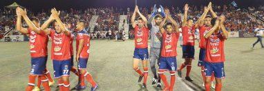 Xelajú MC solventó tres partidos en dos días ante equipos de las ciudades que visitaron en Estados Unidos. (Foto Prensa Libre: Cortesía)