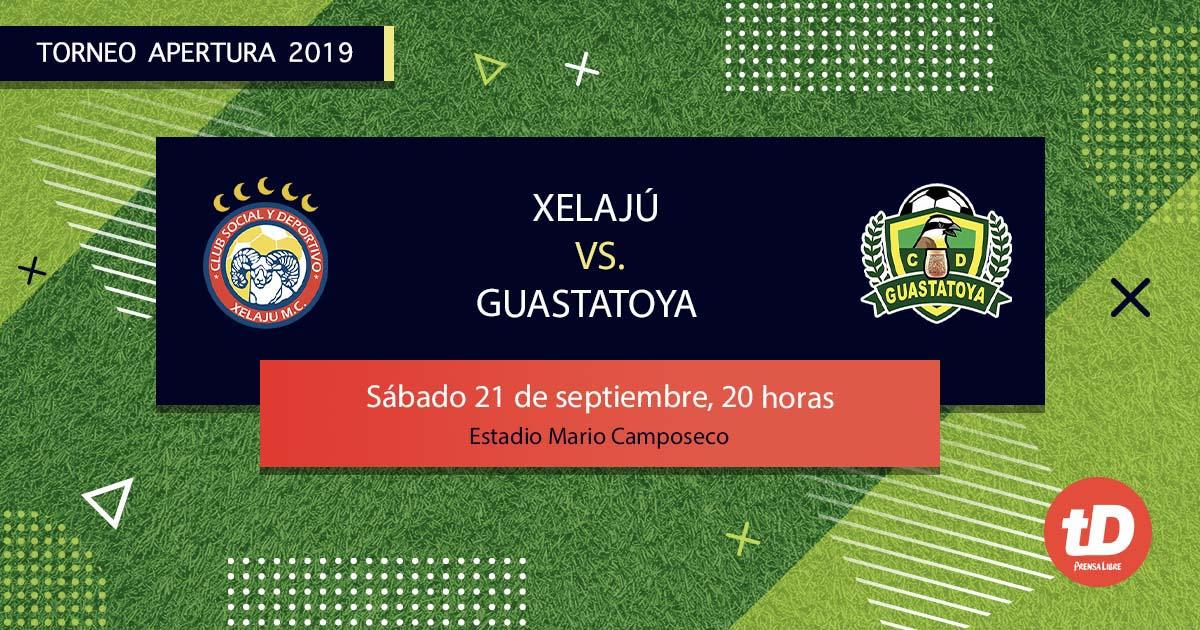 EN DIRECTO | Xelajú MC vs Guastatoya