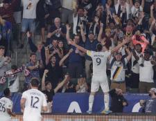 El delantero sueco Zlatan Ibrahimovic es muy querido por los aficionados del Galaxy. (Foto Prensa Libre: Twitter Zlatan Ibrahimovic)