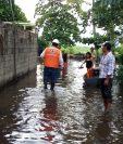 Unas 37 familias en Taxisco, Santa Rosa, fueron afectadas por inundaciones causadas por la lluvia del fin de semana. (Foto Prensa Libre: Hemeroteca PL)
