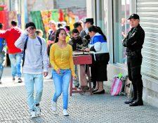 Las principales víctimas de asaltos son mujeres, según la PNC.(Foto Prensa Libre: Hemeroteca PL)