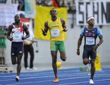En el 2009, el jamaicano Usain Bolt estableció un récord mundial de 9.58 segundos al ganar la final de los 100 metros masculinos en el Campeonato Mundial de Atletismo. (Foto Prensa Libre: AFP)