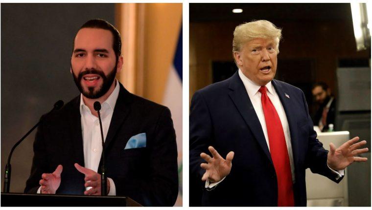 El presidente de El Salvador, Nayib Bukele, se reunirá con el presidente de Estados Unidos, Donald Trump. (Foto Prensa Libre: Hemeroteca PL)