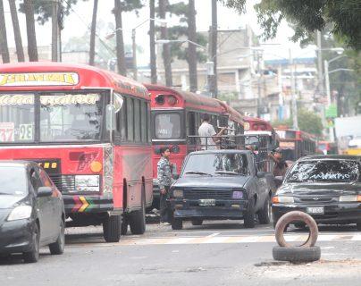 Los buses de la ruta 37 son los más asaltados, según la PDH. (Prensa Libre: Hemeroteca PL)