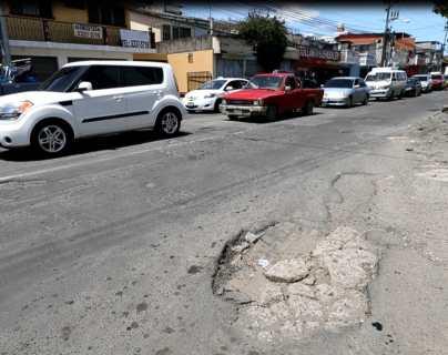 Comerciantes y vecinos piden reparación de bulevar San Nicolás