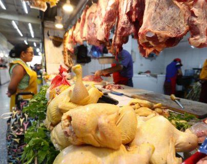 La carne de res fue uno de los productos que aumentó de precio. (Foto Prensa Libre: Urías Gamarro)