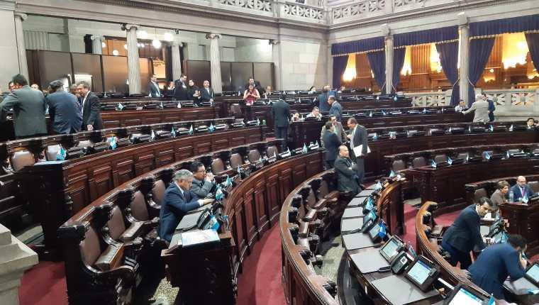 Los diputados aprobaron la creación de una Comisión que investigue lo actuado por la Cicig.  (Foto Prensa Libre: Hemeroteca PL)