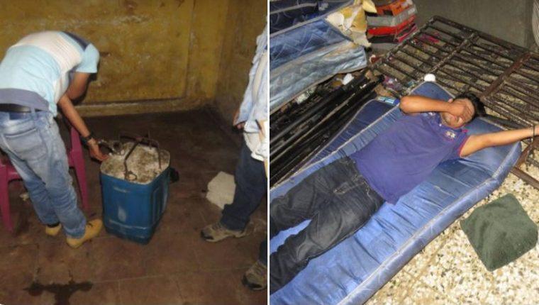 Relatores contra la tortura denunciaron condiciones inhumanas. (Foto Prensa Libre: @Mnp_Guatemala)
