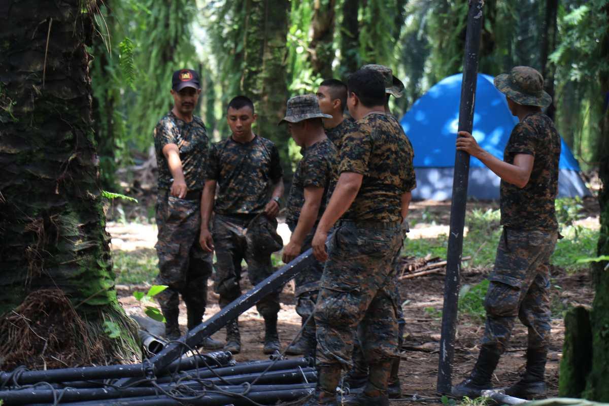 Defensa compra alimentos para el estado de Sitio una semana antes de vencer el decreto