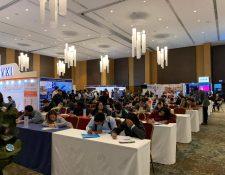 La Cámara de Comercio Guatemalteco Americana (AmCham) llevará a cabo una feria de empleo en occidente. (Foto Prensa Libre: Cortesía)