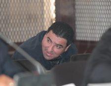 Luis Alejandro Orozco Vargas, alias el Cochi, durante una audiencia. (Foto Prensa Libre: Hemeroteca PL).