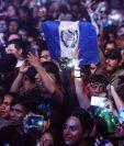 Durante ocho horas, varios músicos guatemaltecos celebraron la Independencia del país en el Parque de la Industria. (Foto Prensa Libre: Keneth Cruz)