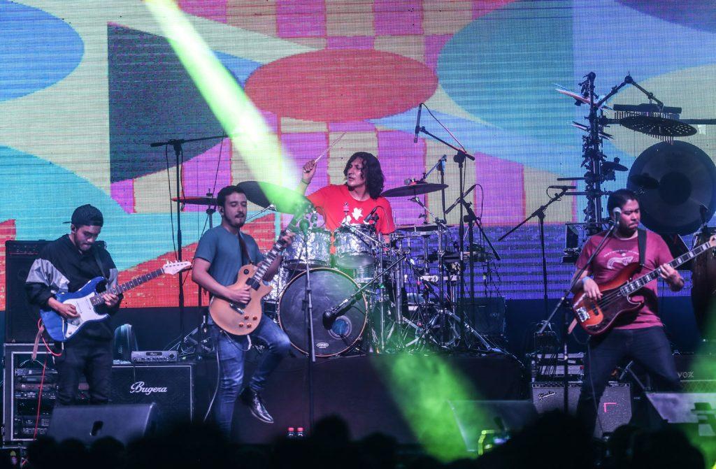 Filoxera es un grupo que ejecuta música en inglés y español en las que fusiona el rock, pop, R&B y bossa nova, entre otros géneros. (Foto Prensa Libre: Keneth Cruz)