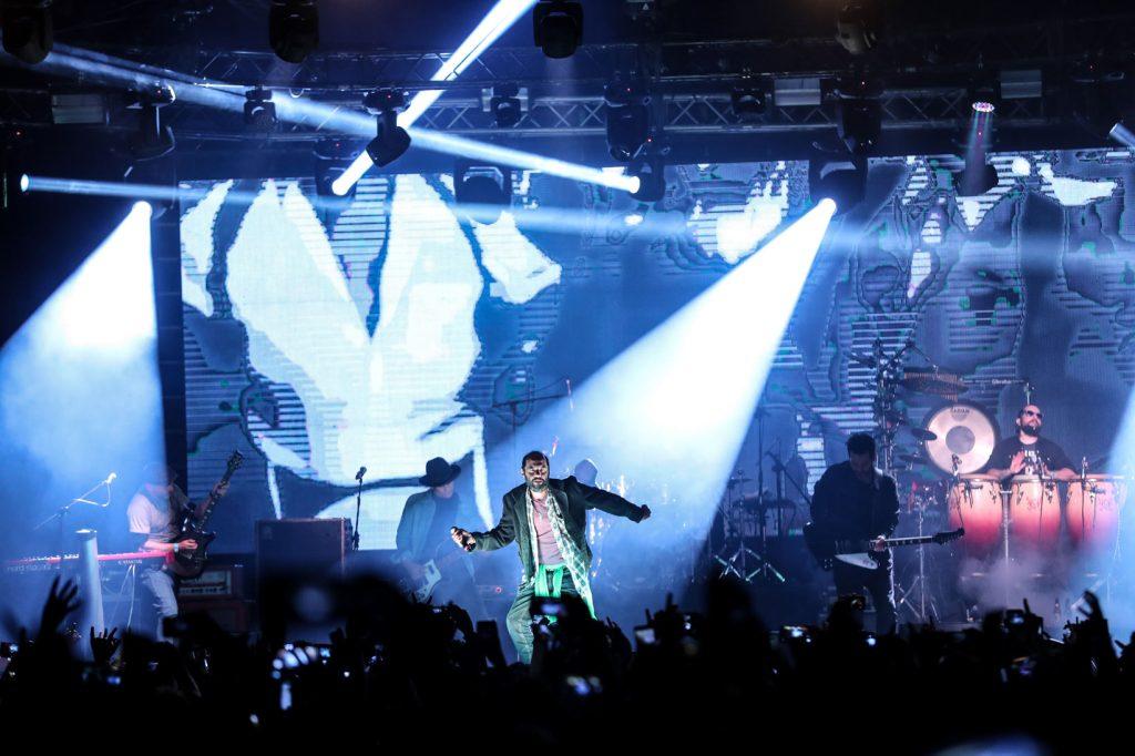 Bohemia Suburbana fue otra de las bandas que congregó a multitudes. (Foto Prensa Libre: Keneth Cruz)