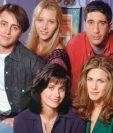 """Este 22 de septiembre se cumplen 25 años de la emisión del primer episodio de la famosa serie noventera """"Friends"""".  Foto: Prensa Libre, AFP"""