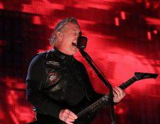 James Hetfield, vocalista y guitarrista de Metallica. (Foto tomada de Metallica/Facebook)