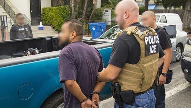 El operativo de ICE fue dirigido a inmigrantes con cargos o antecedentes criminales. (Foto tomada de ICE)