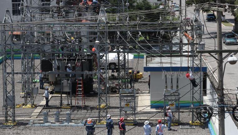 Inde busca comprar 18 seccionadores para la subestación eléctrica de Aguacapa, ubicada en Guanagazapa, Escuintla. (Foto de referencia Prensa Libre)