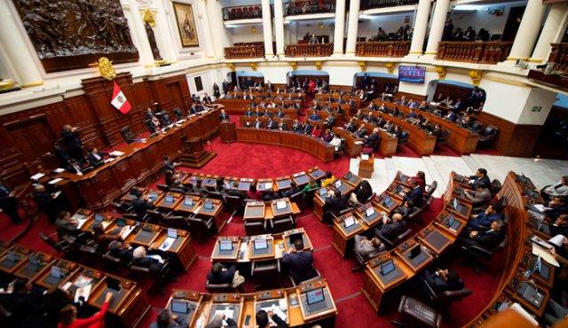 Congreso del Perú. (Foto: AFP)