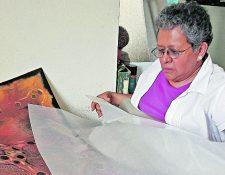 Isabel Ruiz fue una de las grandes leyendas del arte plástico guatemalteco. (Foto Prensa Libre: Hemeroteca PL)