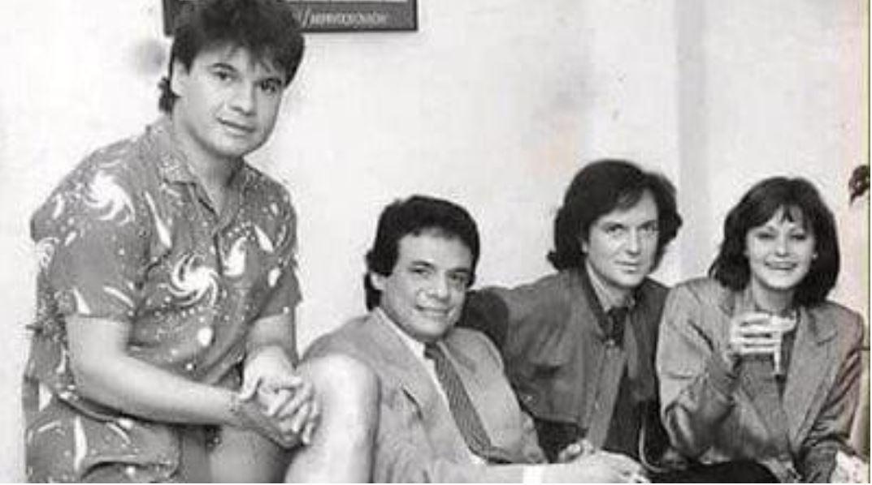 ¿Fue un presagio de su muerte la foto viral de José José junto a Juan Gabriel, Camilo Sesto y Rocío Durcal?