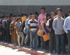 Guatemala tiene un alto porcentaje de población joven pero hacen falta más generación de empleo. (Foto, Prensa Libre: Hemeroteca PL).