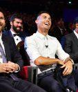 Messi, Cristiano y Van Dijk, compiten por otro premio. (Foto Prensa Libre: Hemeroteca PL)