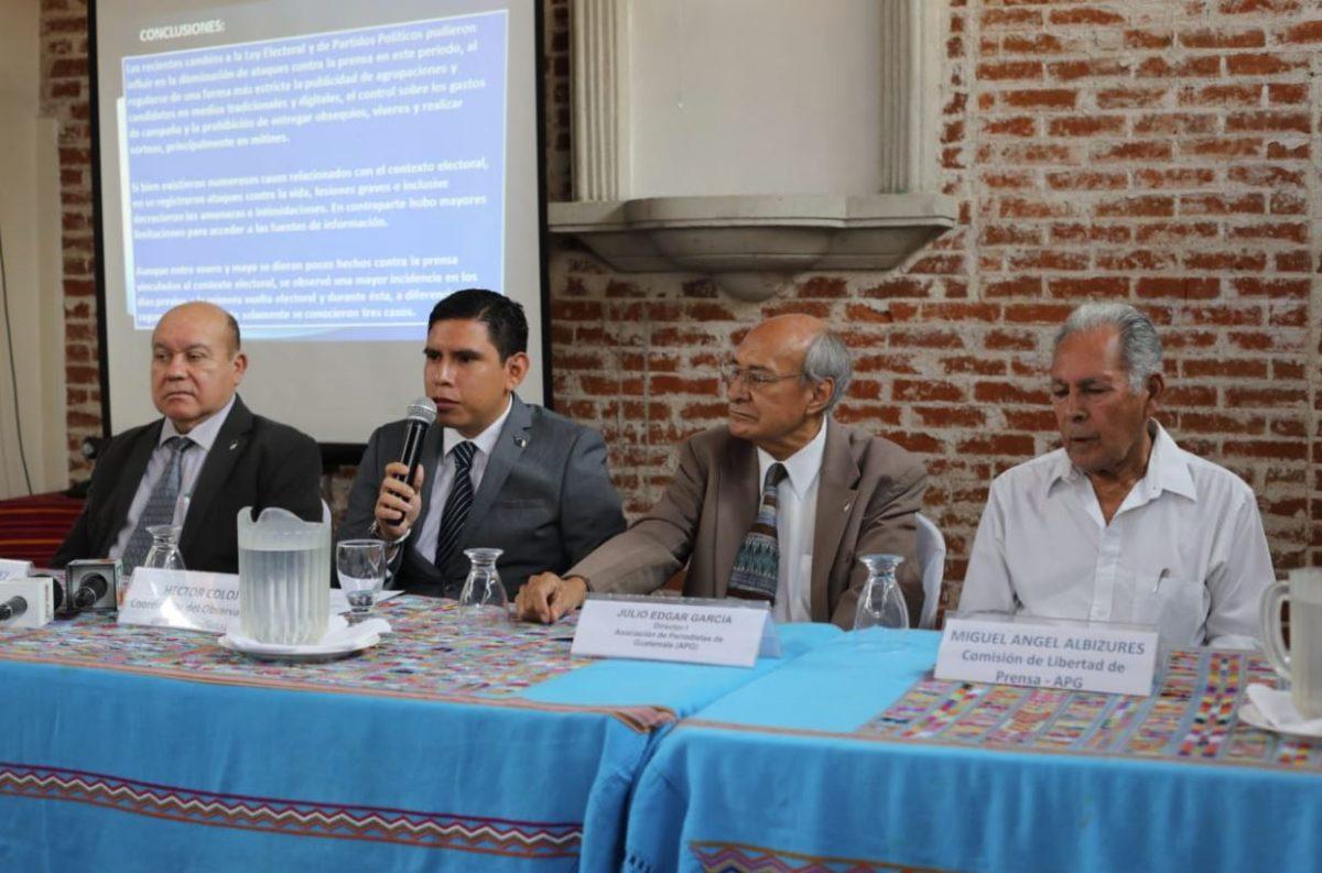 Asociación de Prensa de Guatemala teme impunidad en crímenes contra el gremio