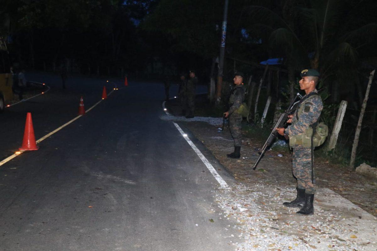 Estado de Sitio: Autoridades incrementarán la seguridad en Izabal en los próximos días