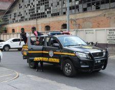 Los agentes fueron detenidos por cuatro delitos. (Foto Prensa Libre: Hemeroteca PL)