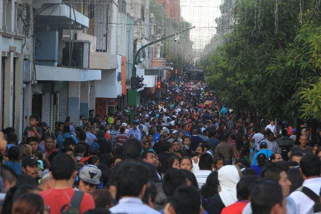 La población mantiene su ritmo natural de crecimiento. (Foto Prensa Libre: Hemeroteca PL)