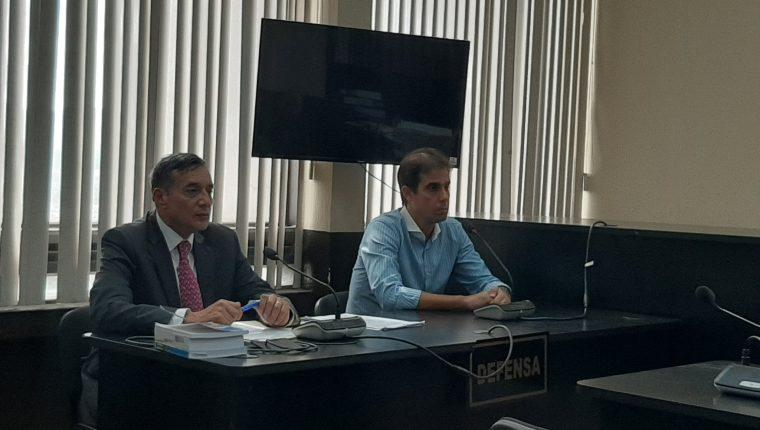 Rodrigo Sampaio Mattos fue condenado a cinco años de prisión conmutables. (Foto Prensa Libre: Sucely Contreras)