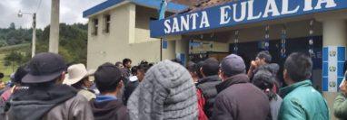 El centro de detención de Santa Eulalia. (Foto Prensa Libre: Noti Santa Eulalia)