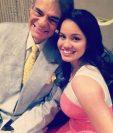 Sara Sosa junto a su padre José José. (Foto Prensa Libre: Instagram)