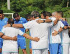 Guatemala trabaja en Puerto Rico para el partido del próximo martes. (Foto ACD).