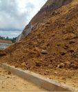 Vista de uno de los derrumbes que ocurrió el año pasado en el Libramiento de Chimaltenango. (Foto Prensa Libre: Hemeroteca PL)