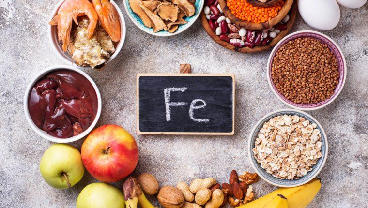 El hierro es un mineral esencial para distintas funciones de nuestro organismo. (Foto Prensa Libre: Servicios).
