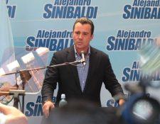 El exministro de comunicaciones Alejandro Sinibaldi enfrenta varios procesos por corrupción. (Foto Prensa Libre: Hemeroteca PL)