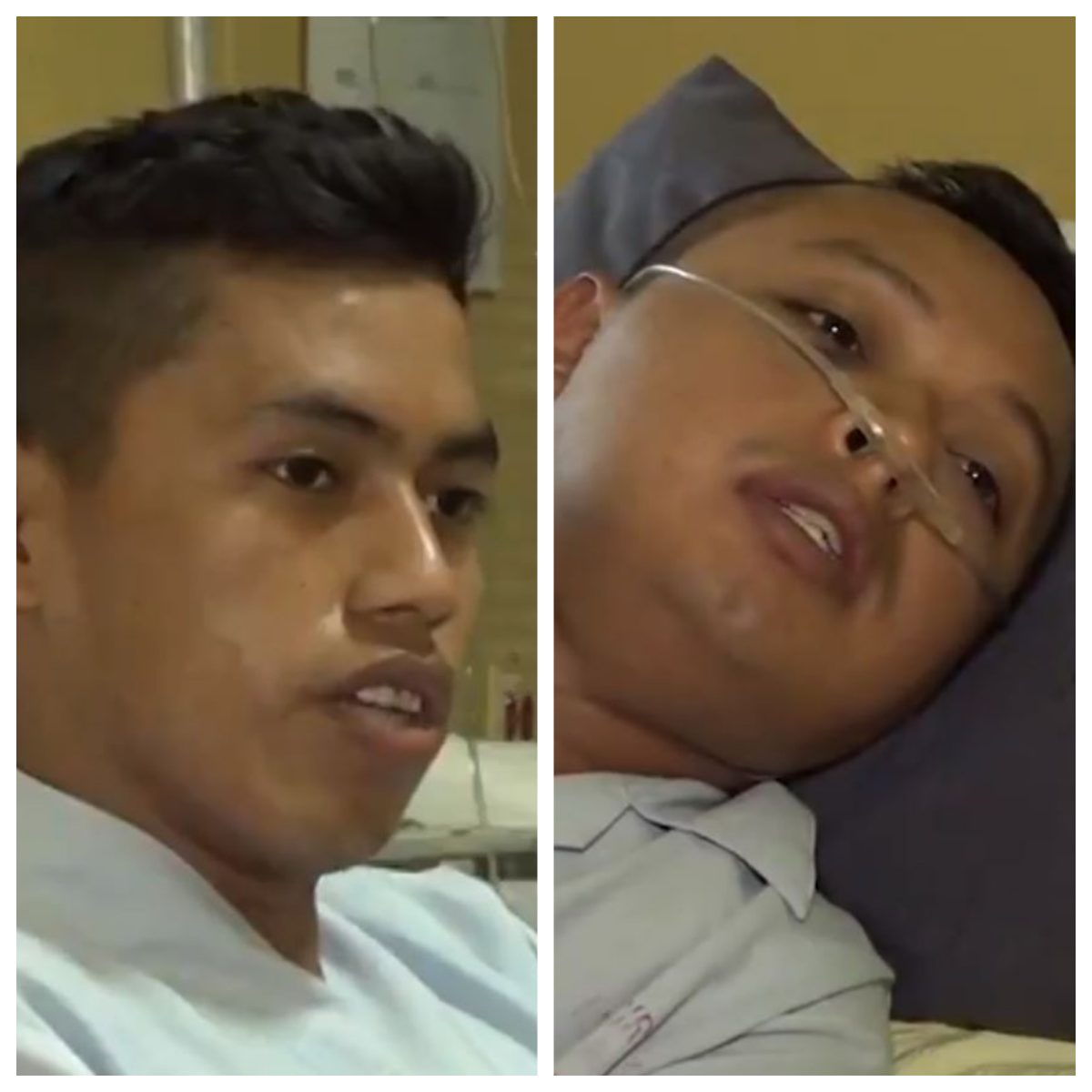 Soldados que sobrevivieron a supuesta emboscada en Izabal narran su versión de los hechos desde un hospital