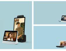 La nueva pantalla inteligente de Facebook busca competir en el mercado digital. (Foto Prensa Libre: Facebook)