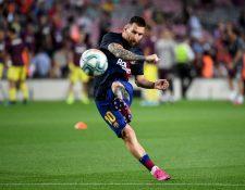 Frenkie de Jong considera que Lionel Messi merece ganar el Balón de Oro. (Foto Prensa Libre: AFP)