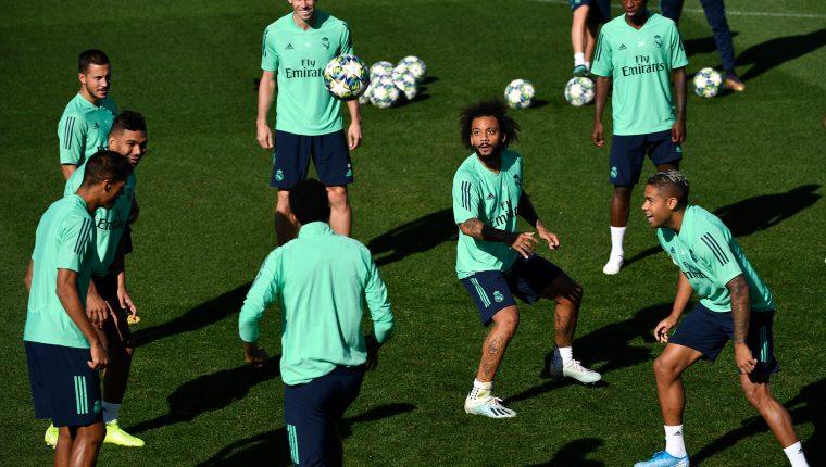 Los jugadores del Real Madrid pueden ser multados por diversas faltas a la disciplina. (Foto Prensa Libre: AFP)