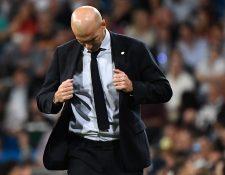 La paciencia de Florentino Pérez parece haber llegado a su límite y Zinedine Zidane ya tendría sustituto. (Foto Prensa Libre: AFP)