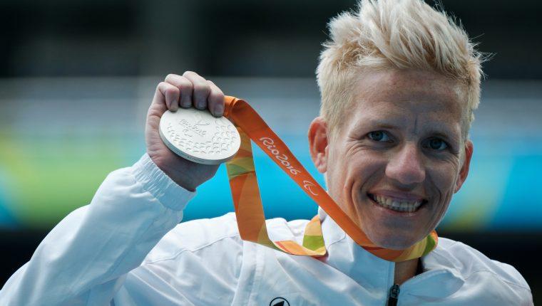 Marieke Vervoort fue una deportista destacada.  Su última participación paralípica fue en Río 2016. (Foto Prensa Libre: AFP)