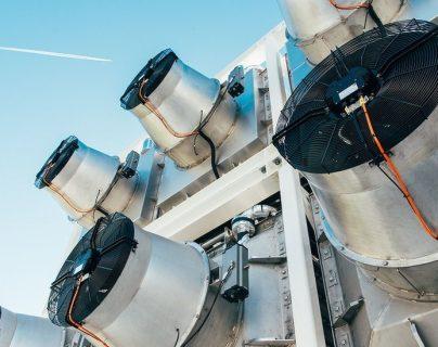 La tecnología de captura directa del aire recolecta CO2 de la atmósfera