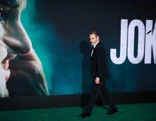 El personaje del Jóker es interpretado por Joaquin Phoenix.