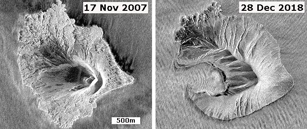 """Las """"claras señales"""" de alerta que lanzó un volcán antes de hacer erupción y provocar un tsunami"""